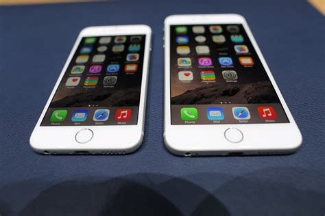 how much are the iphone 6 on with the new larger iphones
