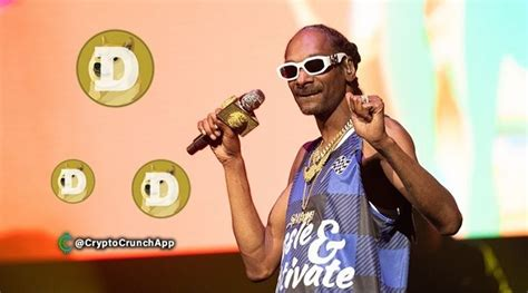 Snoop Dogg Joins Elon Musk In Pumping Dogecoin : CryptoMarkets