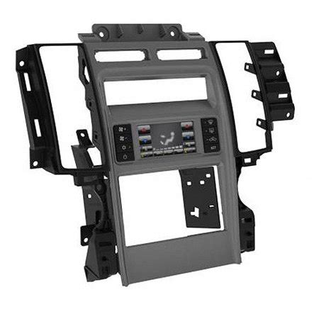 scosche fd1447b 2010 up ford taurus din and din with pocket installation kit