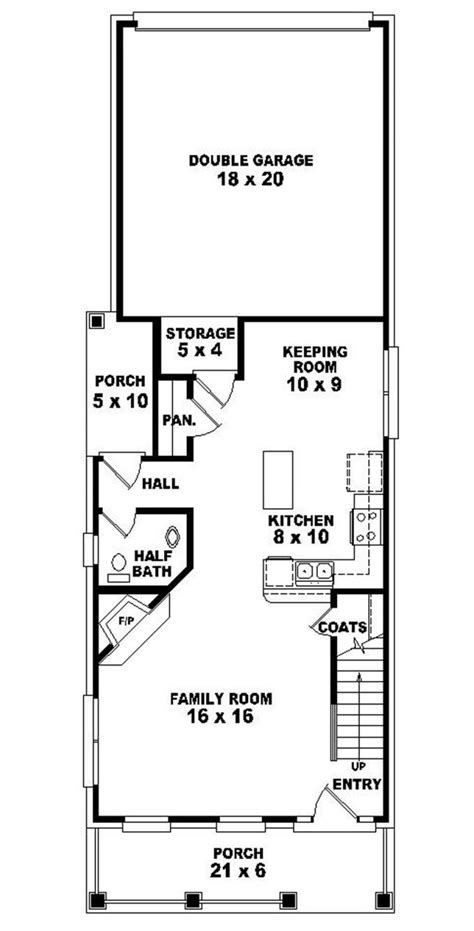 house plan for narrow lot marvelous home plans for narrow lots 9 2 narrow lot
