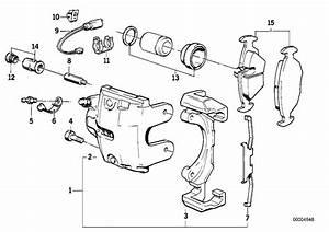 Bmw 633csi Clip  Fn  28  302  Brake  Pad  Sensor