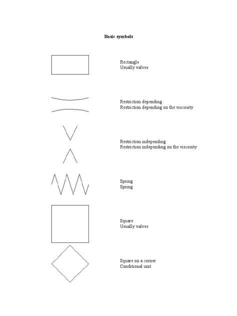 Hydraulic & Pneumatic Symbols   Valve   Fluid Dynamics