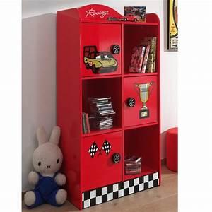 Armoire Enfant Garcon : armoire enfant race rouge ~ Teatrodelosmanantiales.com Idées de Décoration