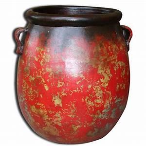 Jarre Terre Cuite Grande Taille : pot en terre cuite de grande taille poterie cache pot ~ Dailycaller-alerts.com Idées de Décoration