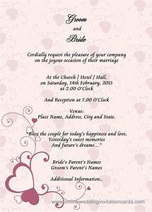 Online wedding invitation design wblqualcom for Wedding invitation layout online