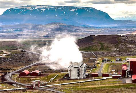 Электростанции на основе геотермального явления