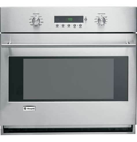 zetsmss ge monogram  built  electronic convection single wall oven  monogram