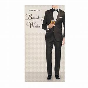 Stylish Mens Birthday Card-BC05 - Stylish Gifts