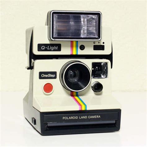 Vintage camera Polaroid OneStep Q Light WITH FILM