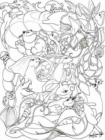 Pokemon Coloring Pages Printable Bright Choose Colors