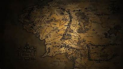 Middle Earth Tolkien Lord Rings Jrr Maps