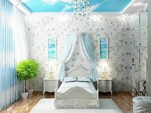 Tapeten Für Mädchenzimmer : moderne wandgestaltung f r m dchenzimmer ~ Sanjose-hotels-ca.com Haus und Dekorationen