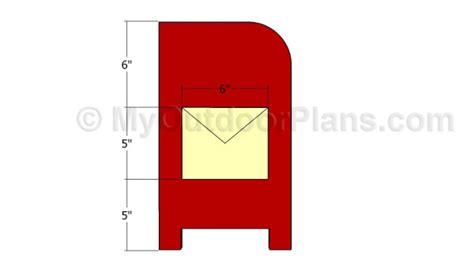 mailbox plans myoutdoorplans  woodworking plans