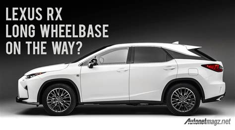 Gambar Mobil Lexus Rx by Lexus Rx Wheelbase 2017 Autonetmagz Review Mobil