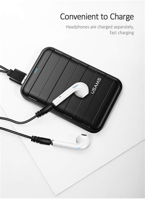 USAMS US-LG002 LC Series Bluetooth 5.0 Wireless Headphone