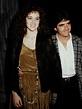 Rebecca and boyfriend Brad Silberling in 1987 ...