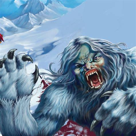 Mythical creatures: Yeti   Mythical creatures, Creatures ...