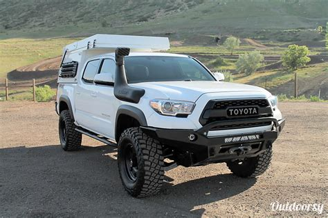 toyota tacoma motor home truck camper rental