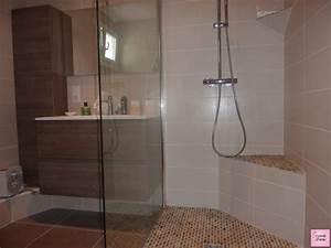 salle de bain petite avec baignoire With petite salle de bain avec douche italienne