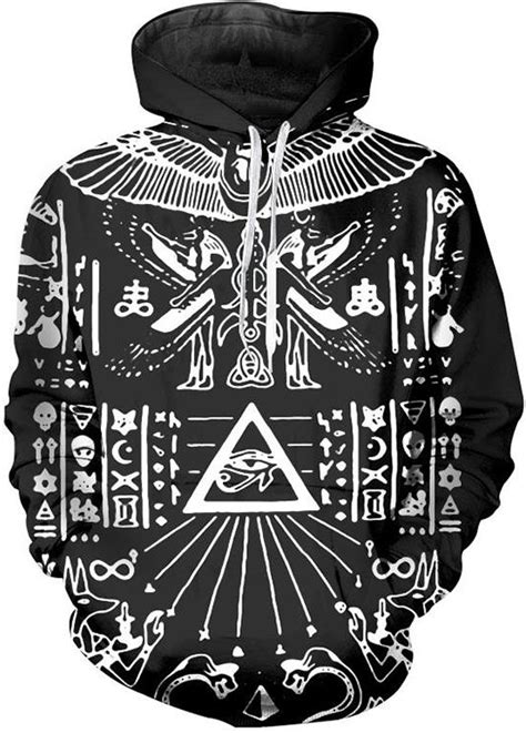 illuminati wear illuminati pharaoh 3d wear hoodie by www