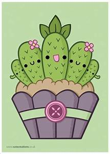 Cactus Cupcake by *Cute-Creations on deviantART   Cactus ...
