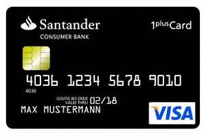 Santander 1plus Visa Card Abrechnung : santander bietet 1plus visa card mit kostenlosem girokonto ~ Themetempest.com Abrechnung