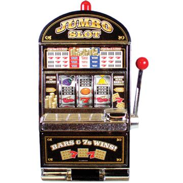"""jumbo Slot"" Machine Bank Coin Bank Toys That Work"