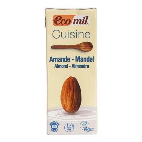 EcoMil BIO Mandeļu kulinārijas krēms, 200 ml 0047 | Sīrupi ...