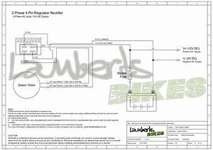 4 Pin Motorcycle Regulator Rectifier Wiring Diagram Pdf