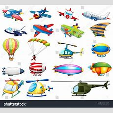 Different Modes Air Transportation Stock Vector 230110675 Shutterstock