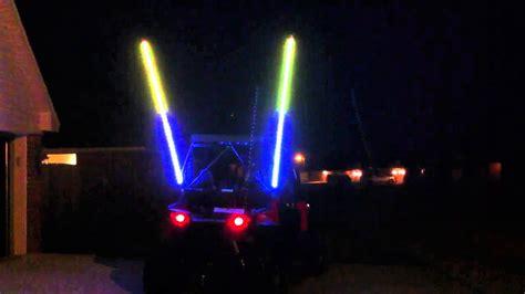lighted whips for rzr best led whips rzr 4 youtube