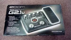 Zoom Guitar Effects Pedal G2 1u Boxed  Complete With