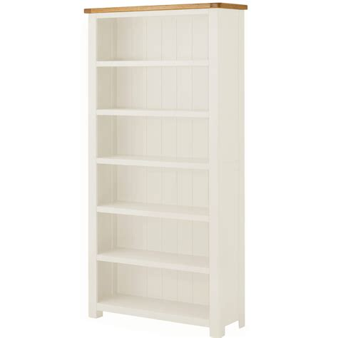Assembled Bookcases by Portland White Large Bookcase Fully Assembled Oak World