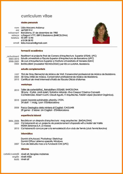 How To Cv by 11 Curriculum Vitae E Theorynpractice