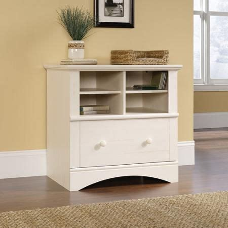 Where To Buy File Cabinets by Sauder Harbor View Lateral File Antiqued White Finish