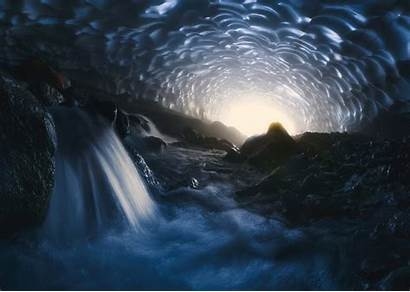 Cave Water Waterfall Landscape Chile Wallpapers Nature