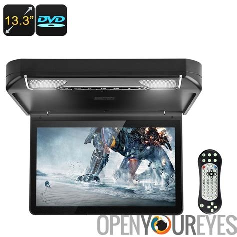 dvd player auto 13 3 zoll auto dvd player dach monitor hd aufl 246 sung