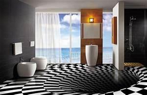 Dalle Adhesive Salle De Bain : revetement mural pvc pour salle de bain interesting ~ Premium-room.com Idées de Décoration