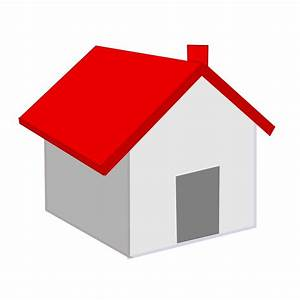 Red Roof Home Icon transparent PNG