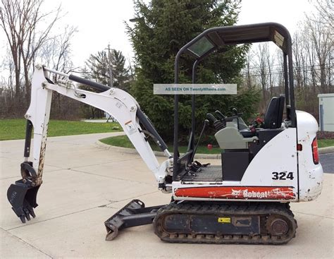 bobcat  mini excavator   bucket  speed kubota diesel