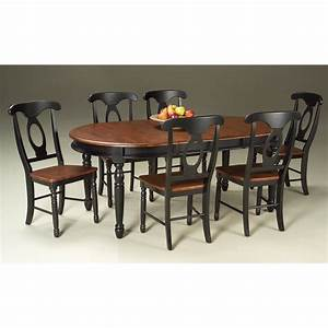 A-America British Isles Solid Wood Oval Dining Table with