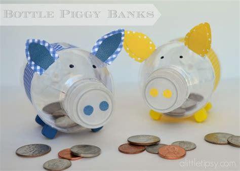 Bottle Piggy Banks #12monthsofmartha Giveaway