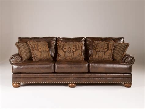 Ashley Furniture Durablend Antique Sofa  The Classy Home