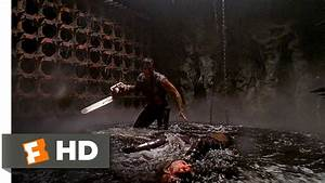 Army Of Darkness 110 Movie CLIP A Witch In The Pit