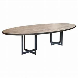 Table de salle a manger calypso ovale ph collection for Table salle a manger ovale