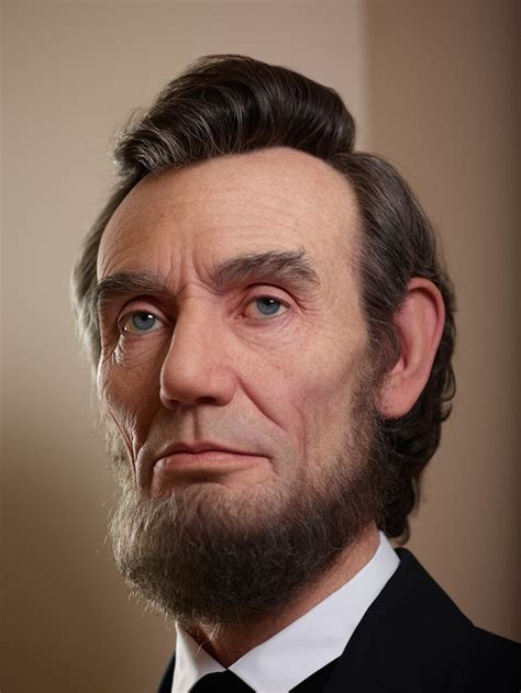 abraham lincoln in color shockingly realistic sculpture portrays abraham lincoln