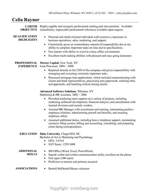 Creative Resume Objective by Creative Best Resume For Administrative Position
