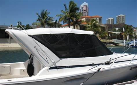 Marine Upholstery Gold Coast by Gold Coast Boat Covers And Canopies Runaway Bay Marine