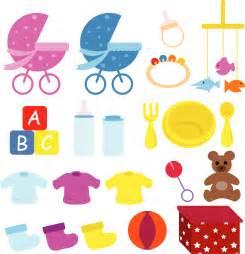 Newborn Baby Item Clip Art