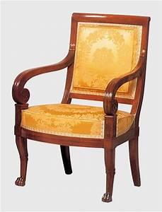 Fauteuil De Style : style empire fauteuil ~ Teatrodelosmanantiales.com Idées de Décoration